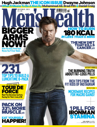 Men's Health - UK November 2015