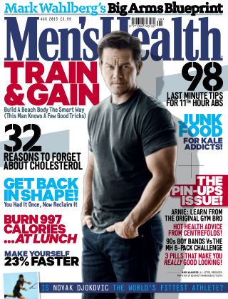Men's Health - UK August 2015
