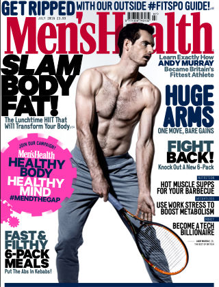 Men's Health - UK July 2016