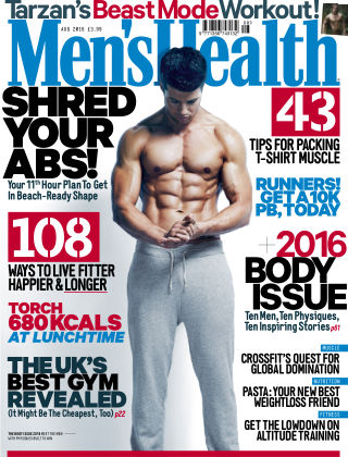 Men's Health - UK August 2016