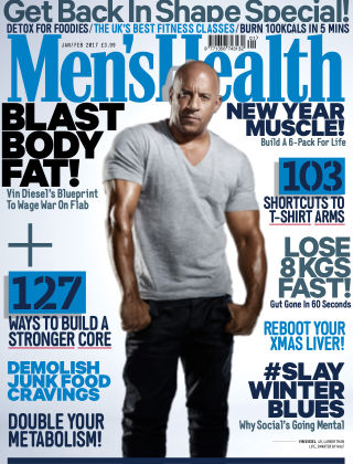 Men's Health - UK Jan-Feb 2017
