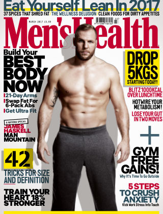 Men's Health - UK March 2017