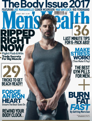 Men's Health - UK Aug 2017