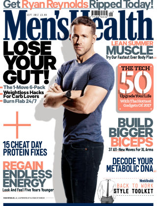 Men's Health - UK Sep 2017