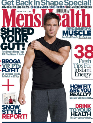 Men's Health - UK Jan-Feb 2018