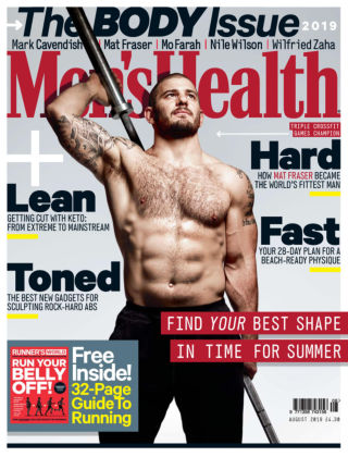 Men's Health - UK Aug 2019