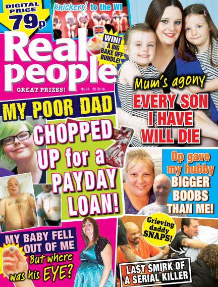 Real People - UK August 18, 2016 00:00