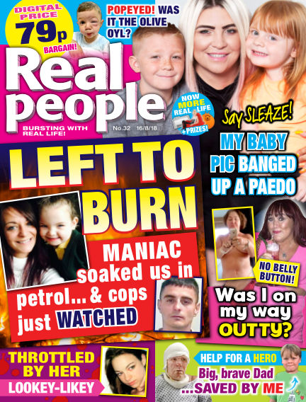 Real People - UK August 09, 2018 00:00