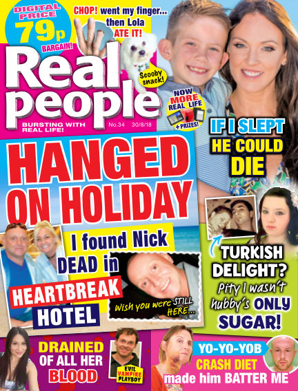 Real People - UK August 23, 2018 00:00