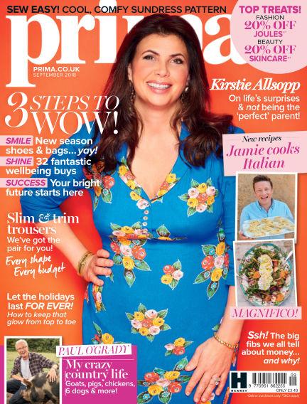 Prima - UK August 03, 2018 00:00