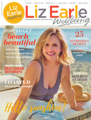 Liz Earle Wellbeing July August 2019