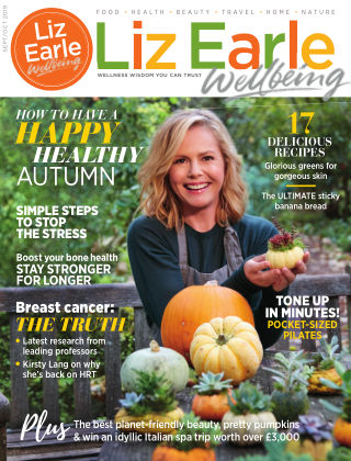 Liz Earle Wellbeing Sept/Oct 2019