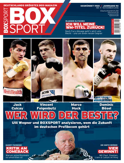 BoxSport October 11, 2016 00:00