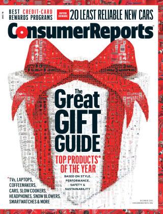Consumer Reports Dec 2015