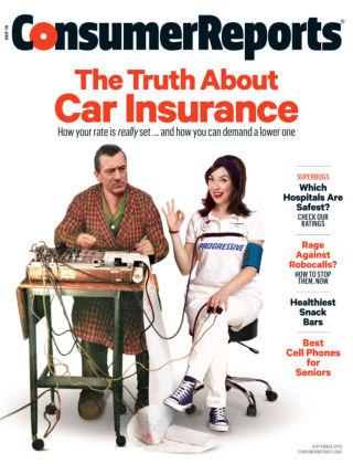 Consumer Reports Sep 2015