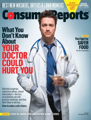 Consumer Reports May 2016