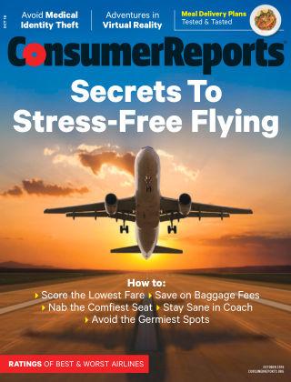 Consumer Reports Oct 2016