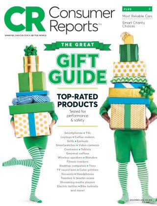 Consumer Reports Dec 2016