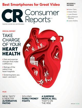 Consumer Reports May 2017