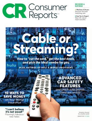 Consumer Reports Aug 2017