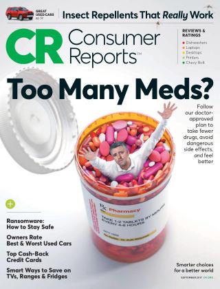 Consumer Reports Sep 2017
