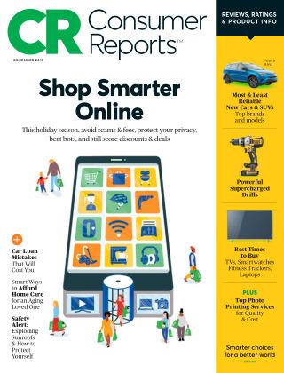 Consumer Reports Dec 2017