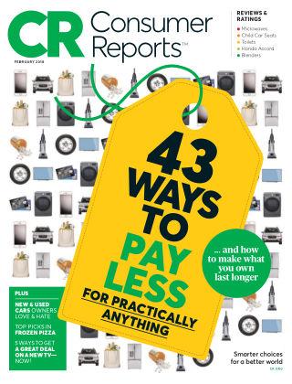 Consumer Reports Feb 2018
