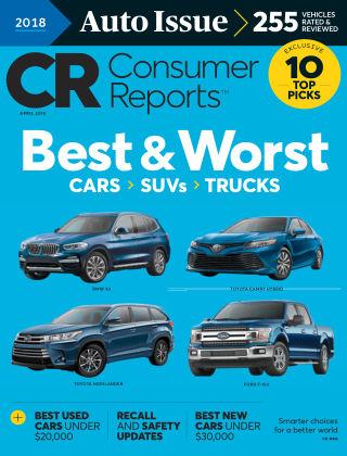 Consumer Reports Apr 2018
