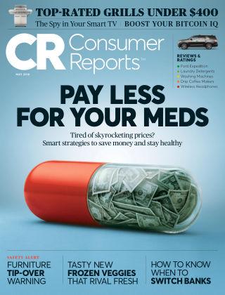 Consumer Reports May 2018