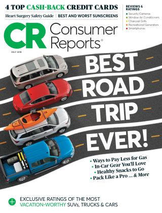 Consumer Reports Jul 2018