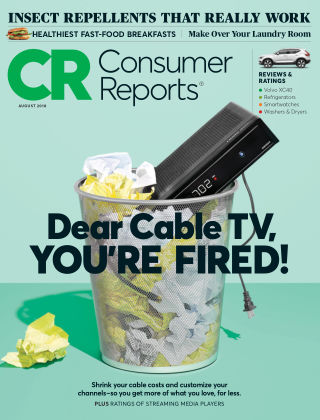 Consumer Reports Aug 2018