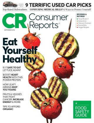 Consumer Reports Sep 2018