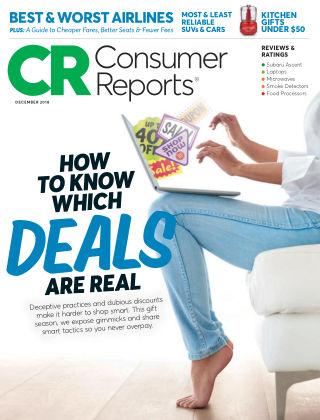 Consumer Reports Dec 2018