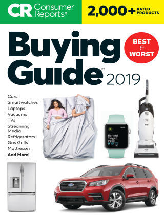 Consumer Reports Buying Guide Jan