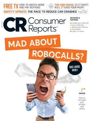 Consumer Reports May 2019