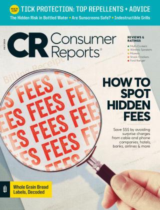 Consumer Reports Jul 2019