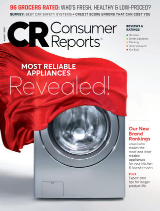 Consumer Reports Aug 2019