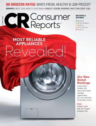 Consumer Reports Aug 2019