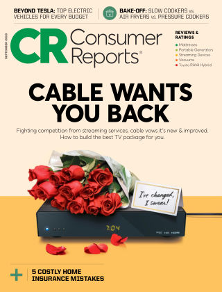 Consumer Reports Sep 2019