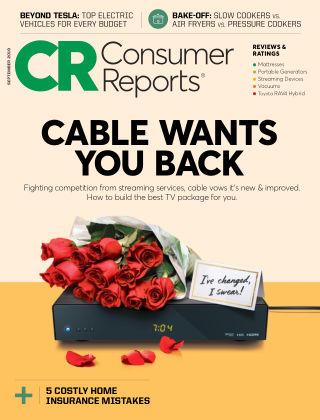Consumer Reports Sep 2019