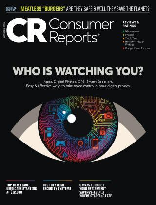 Consumer Reports Oct 2019