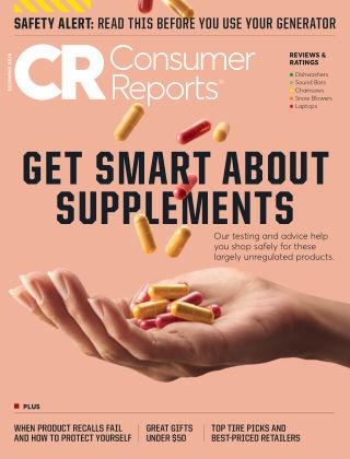 Consumer Reports Dec 2019
