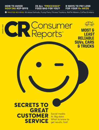 Consumer Reports Jan 2020