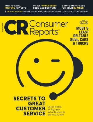Consumer Reports Jan 2020