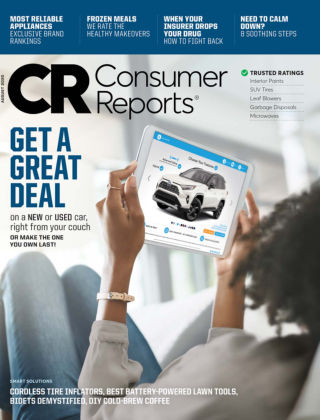 Consumer Reports August 2020