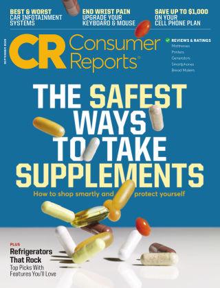 Consumer Reports September 2020