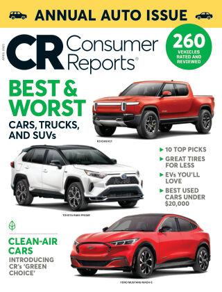 Consumer Reports April 2021