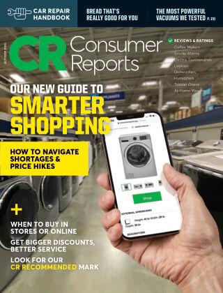 Consumer Reports October 2021