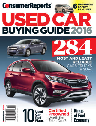 Consumer Reports Cars & Technology Guides Mar 2016