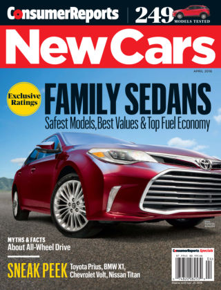 Consumer Reports Cars & Technology Guides Apr 2016